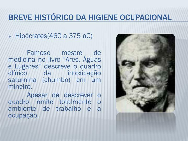 Hipócrates(460 a 375 aC