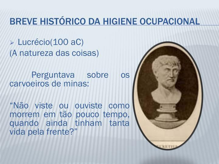 Lucrécio(100 aC