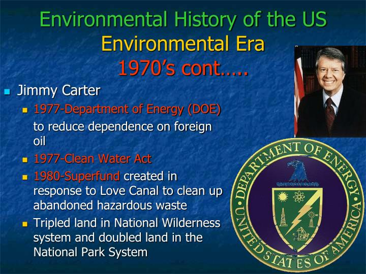 Environmental History of the US