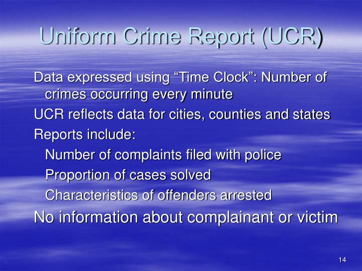 uniform crime report summary The 10 year uniform crime summary report (2000‐2009) was created to illustrate all known offenses and arrests reported to the uniform crime reporting program from 2000 to 2009 in the city of mcallen.