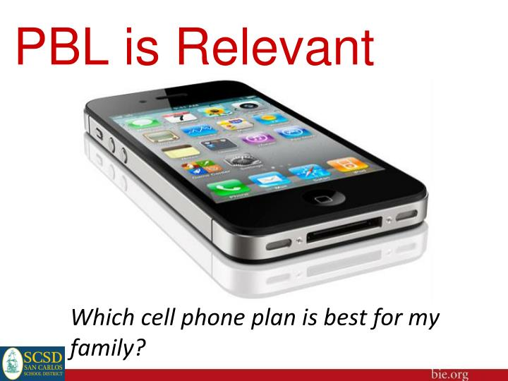 PBL is Relevant