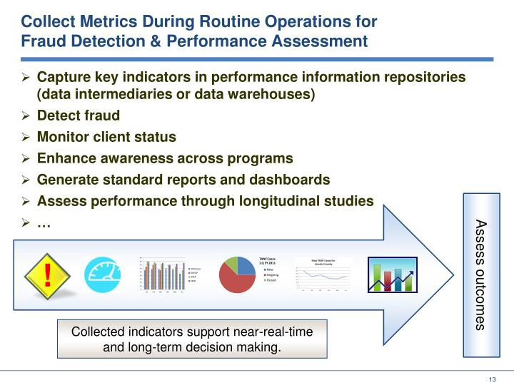 Collect Metrics During Routine Operations for