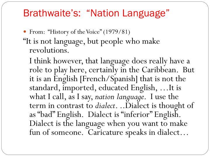 Brathwaite's