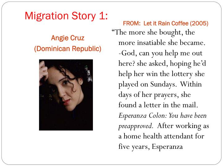 Migration Story 1: