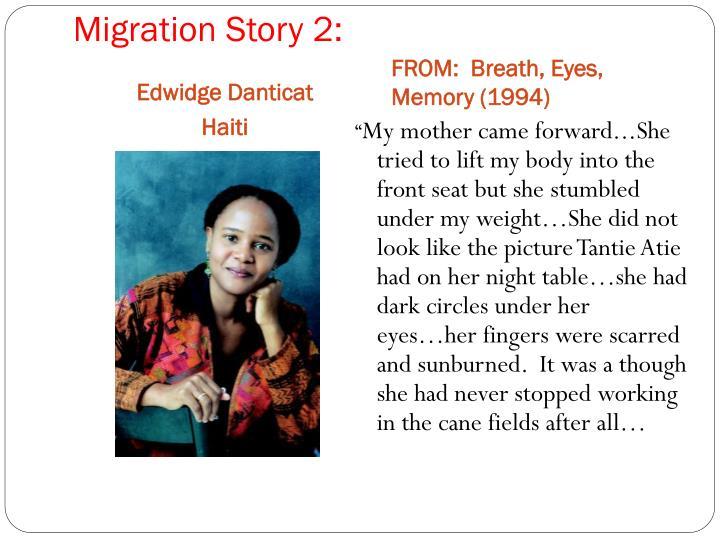 Migration Story 2: