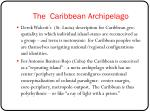 the caribbean archipelago