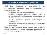 el sistema de seguimiento y evaluaci n1