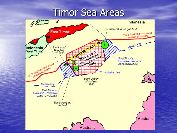 Timor Sea Areas