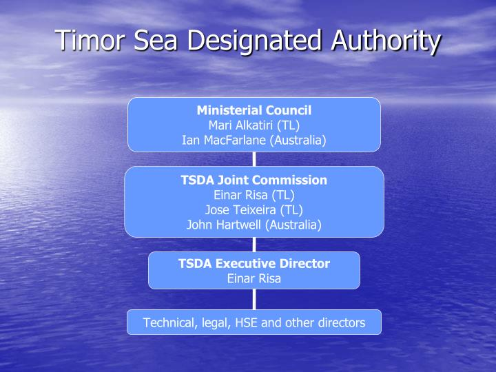 Timor Sea Designated Authority