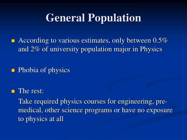 General Population