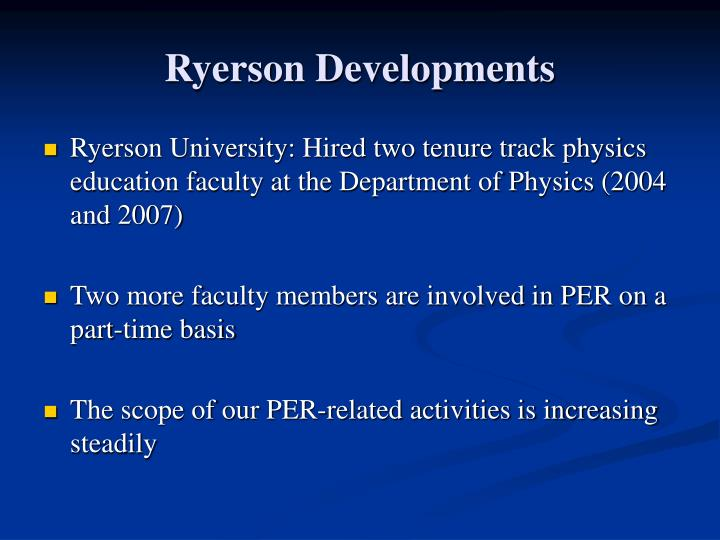 Ryerson Developments