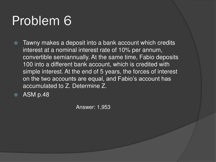 Problem 6