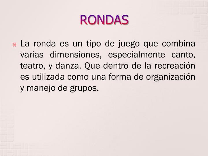 RONDAS