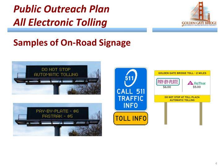 Public Outreach Plan