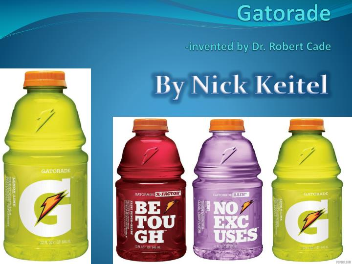 gatorade invented by dr robert cade