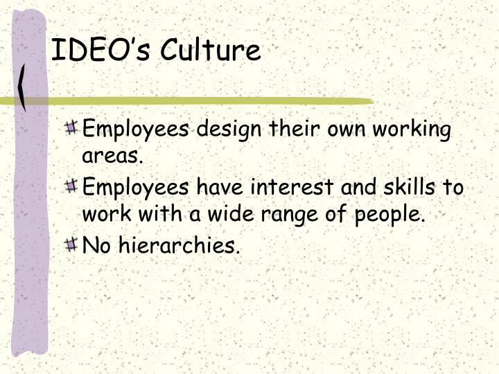 IDEO's Culture