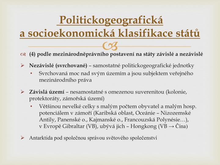 Politickogeografická
