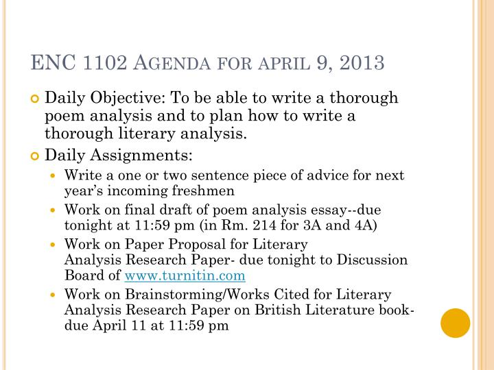 Enc 1102 agenda for april 9 2013