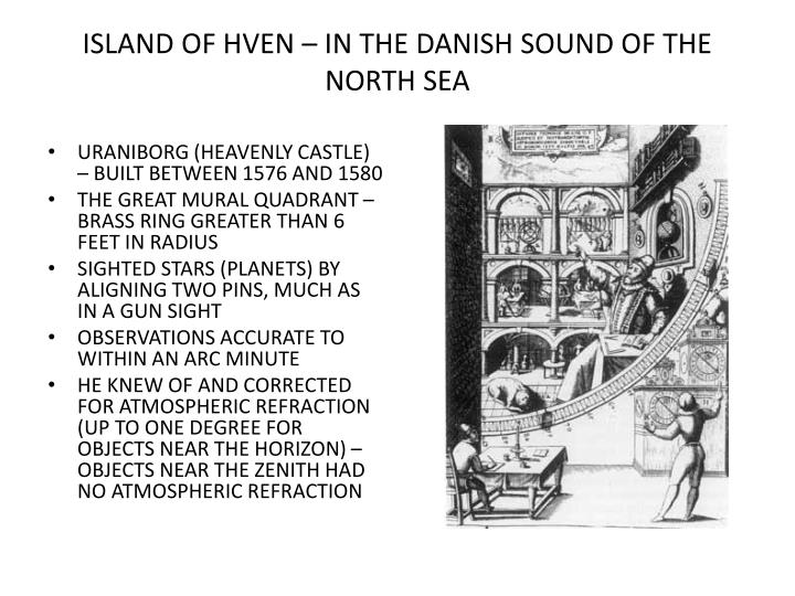 ISLAND OF HVEN – IN THE DANISH SOUND OF THE NORTH SEA