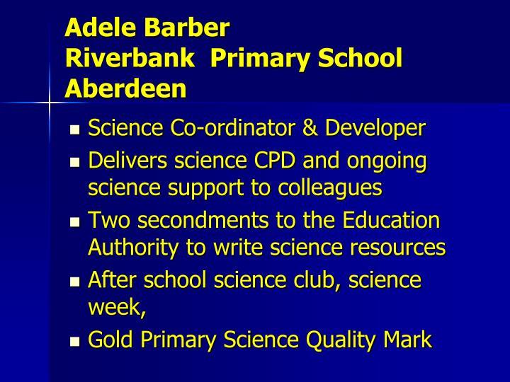 Adele Barber