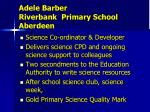 adele barber riverbank primary school aberdeen1