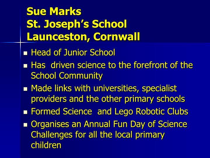 Sue Marks