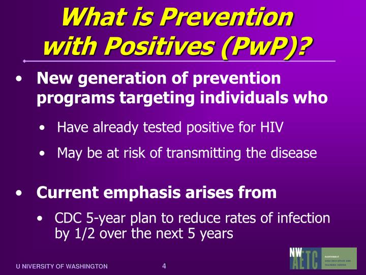 New generation of prevention programs targeting individuals who