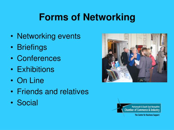 Forms of networking