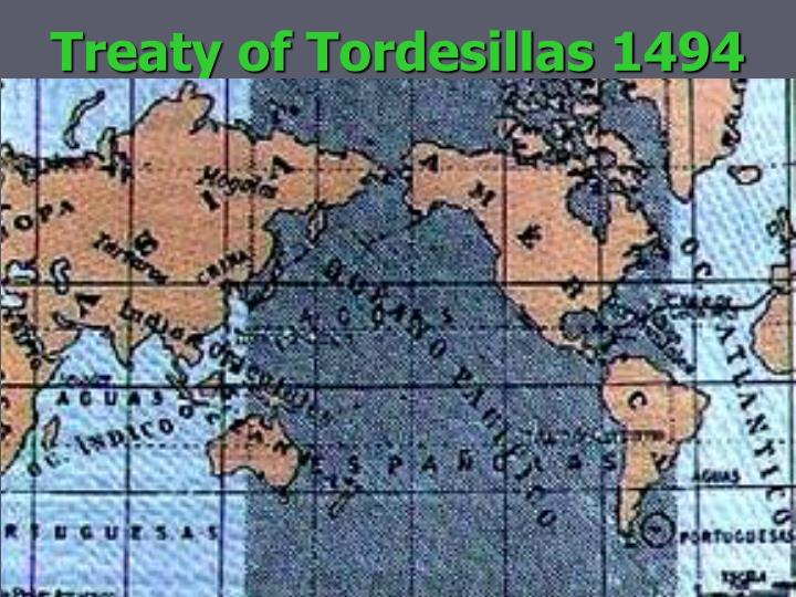 Treaty of Tordesillas 1494