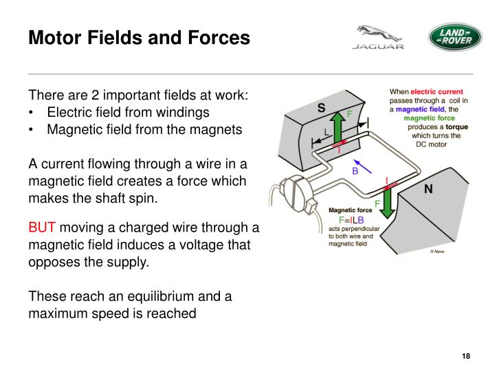 Motor Fields and Forces