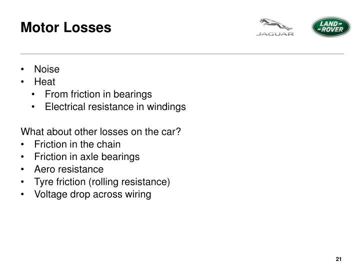 Motor Losses