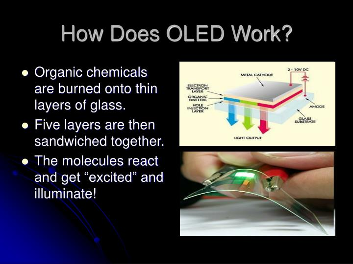 How does oled work