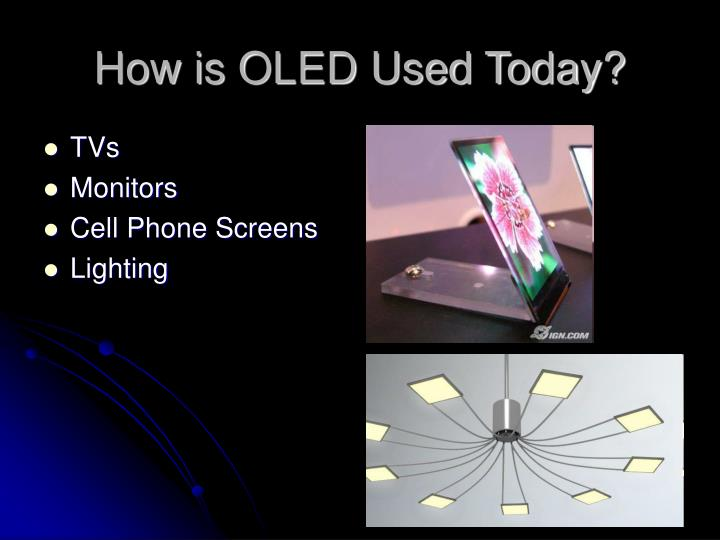 How is OLED Used Today?