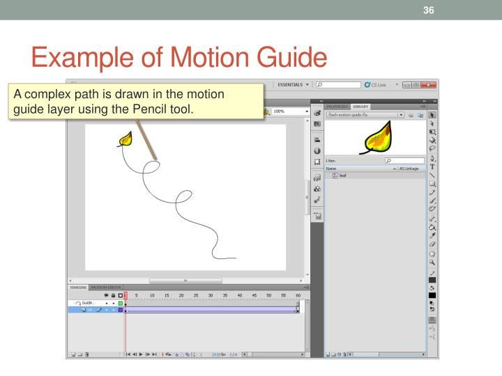 Example of Motion Guide