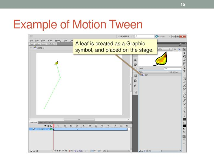 Example of Motion Tween
