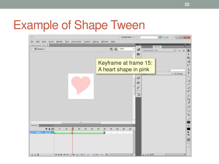 Example of Shape Tween