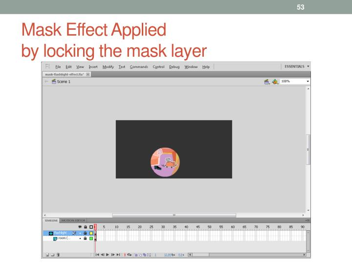Mask Effect Applied