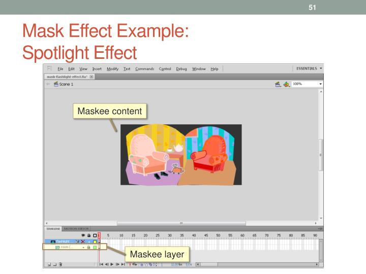 Mask Effect Example: