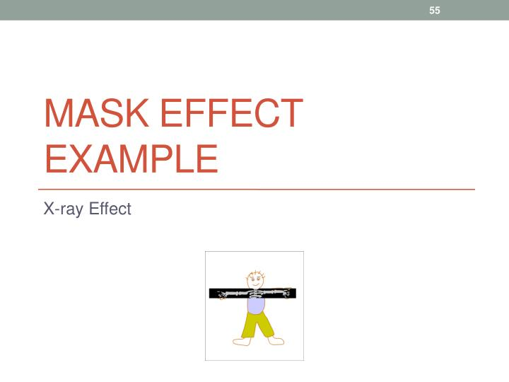 Mask Effect Example