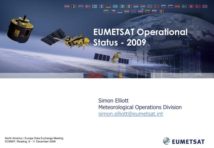simon elliott meteorological operations division simon elliott@eumetsat int