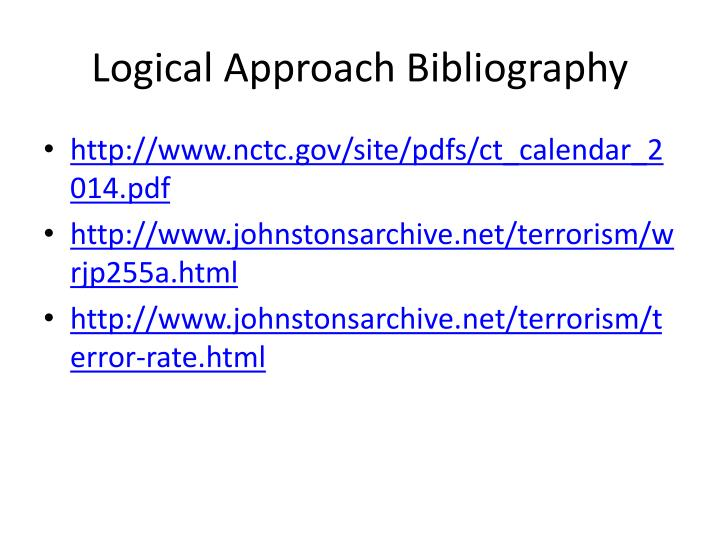 Logical Approach Bibliography