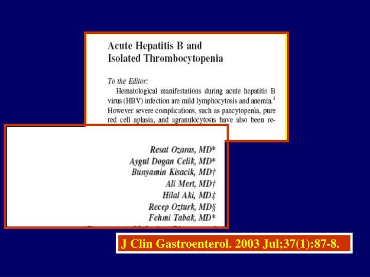 J Clin Gastroenterol. 2003 Jul;37(1):87-8.