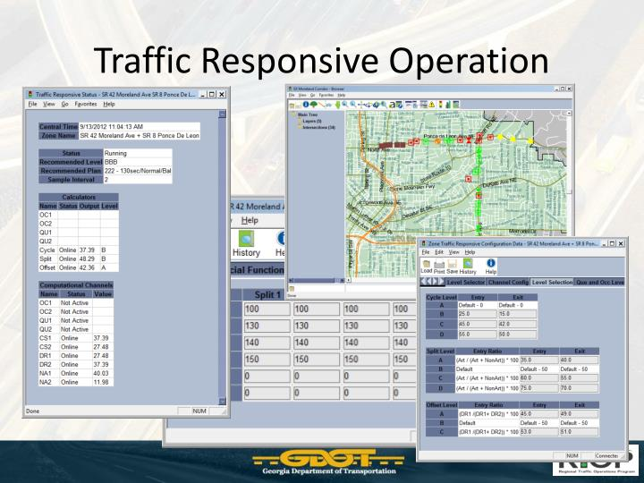 Traffic Responsive Operation