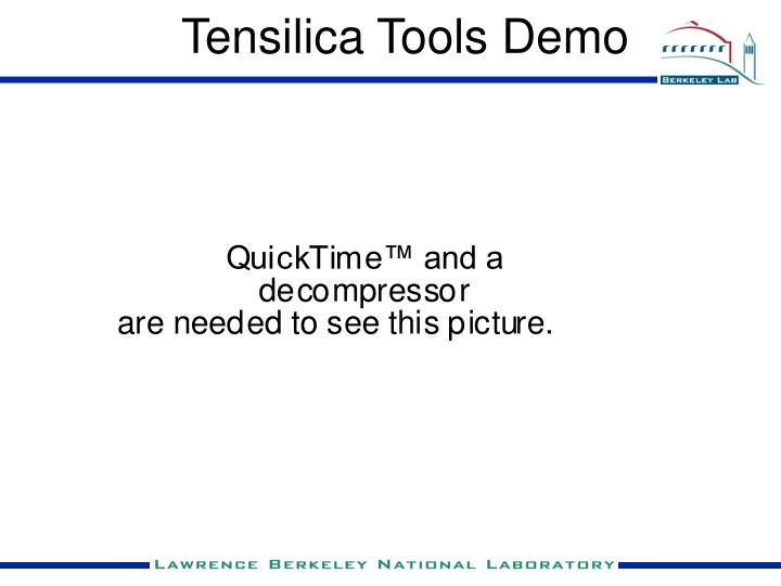 Tensilica Tools Demo