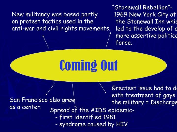"""""""Stonewall Rebellion""""-"""