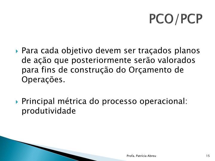 PCO/PCP