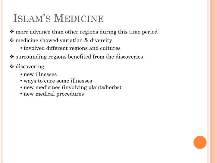 Islam's Medicine