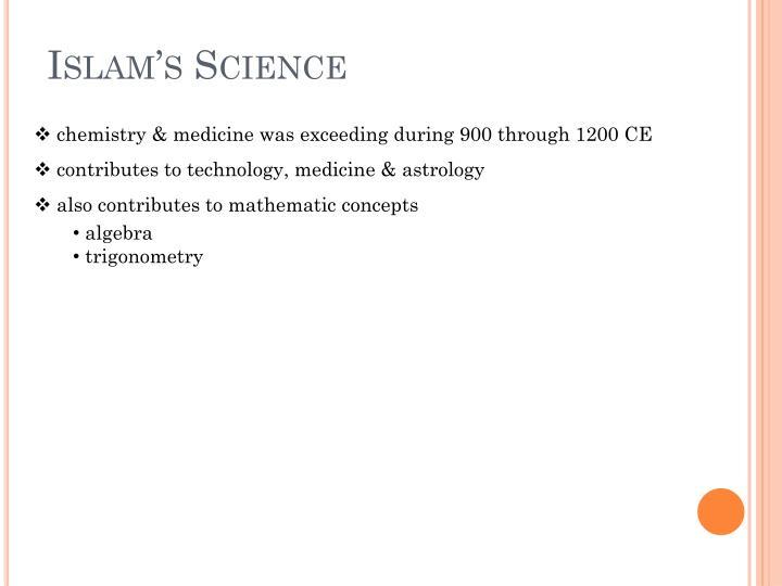 Islam's Science