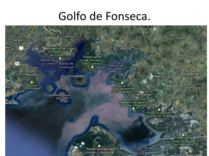 Golfo de Fonseca.