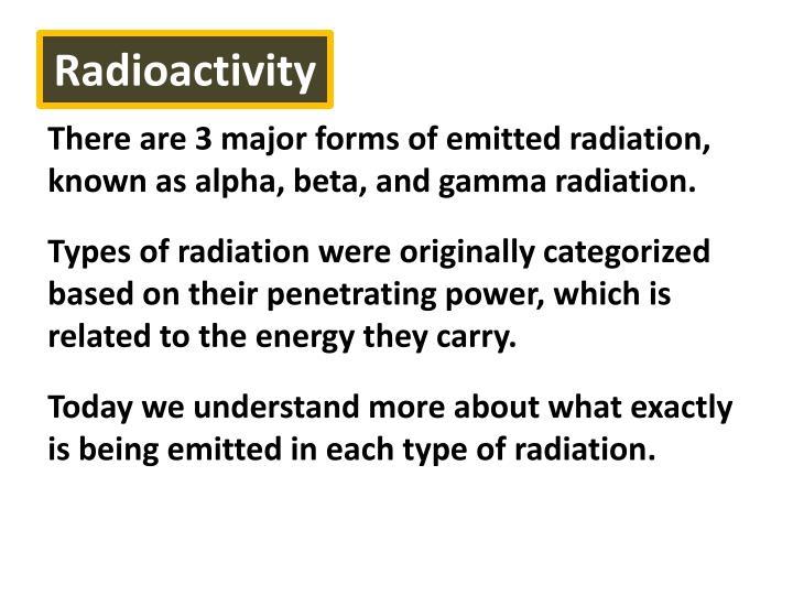 Radioactivity